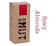 Smoked Spicy Roasted Almonds 4 oz Box